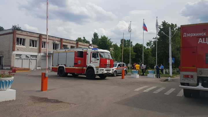 Серия взрывов на оборонном заводе в Дзержинске. Онлайн-трансляция