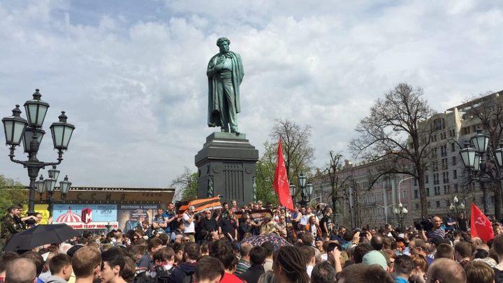 Крепость «Пушкин»: В Москве у Навального появилась оппозиция