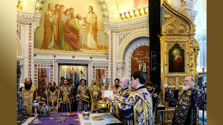 Святитель Иннокентий Херсонский: Последняя вечеря пасхальная послужила решительным окончанием Завета Ветхого