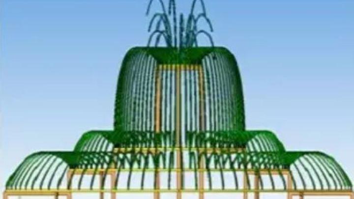 Световой фонтан построят у здания правительства Курганской области