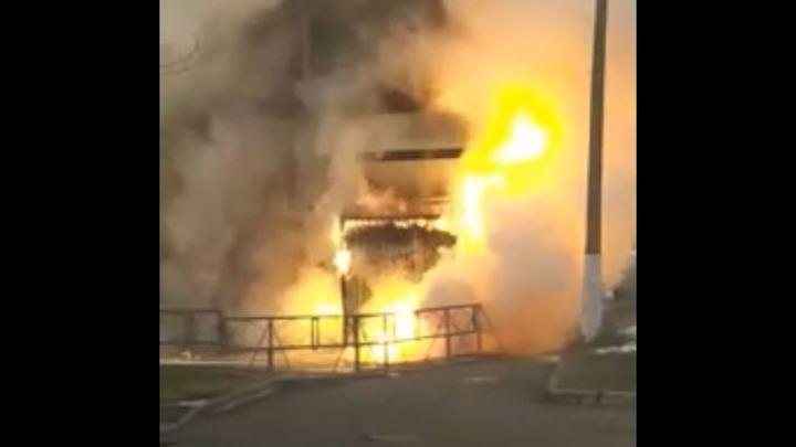 Взрыв в челябинской больнице случился уже во время тушения пожара