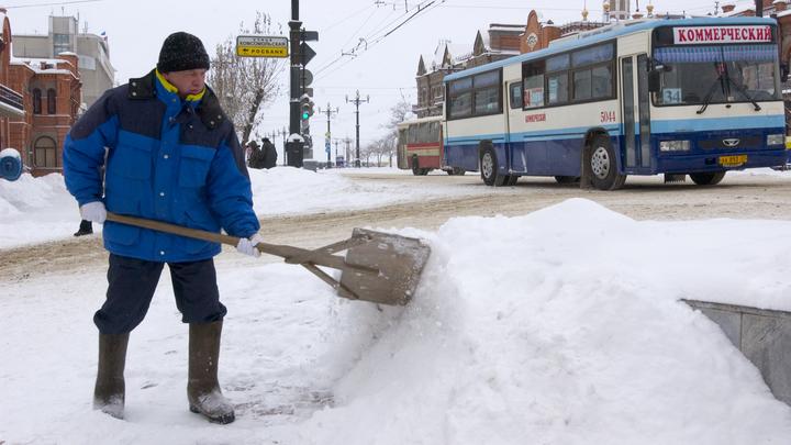 Синоптики анонсировали снежный апокалипсис в Москве