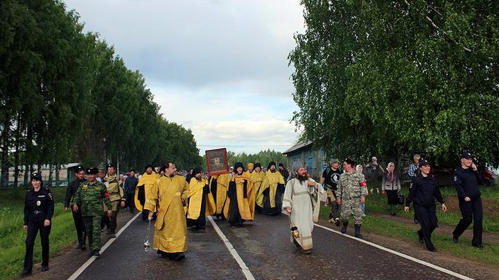 Торжество в память обретения Великорецкого образа святителя Николая Чудотворца. Прямая трансляция