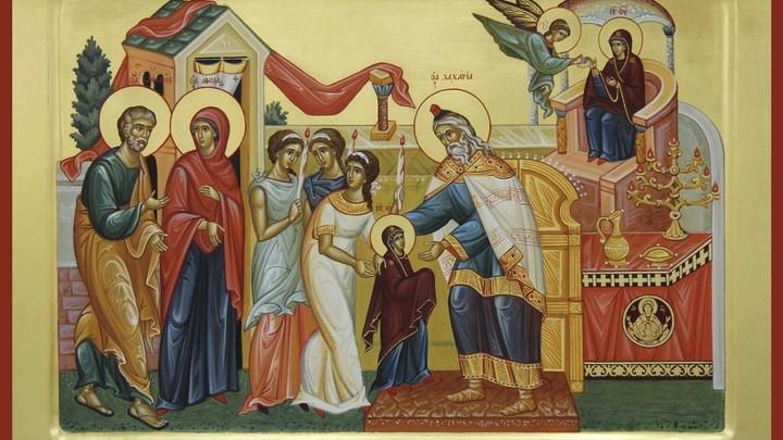 Введение во храм Пресвятой Богородицы. Православный календарь на 4 декабря
