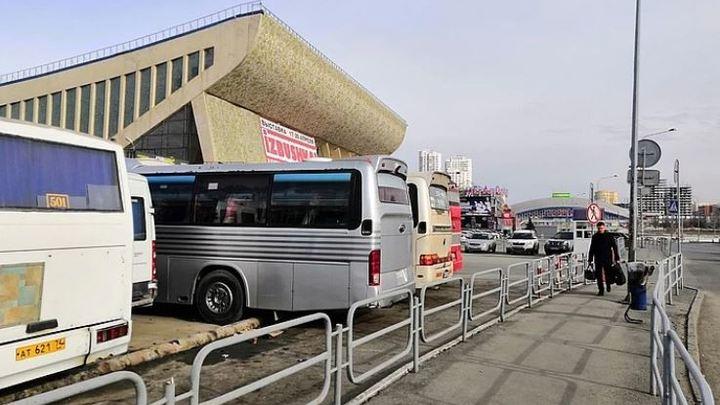 1 февраля c автовокзала возле Дворца спорта Юность переносят 79 рейсов