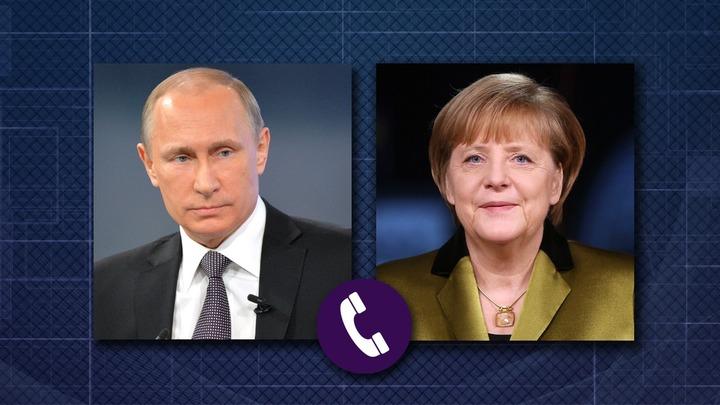 Меркель попросила Путина рассказать о встрече в Женеве