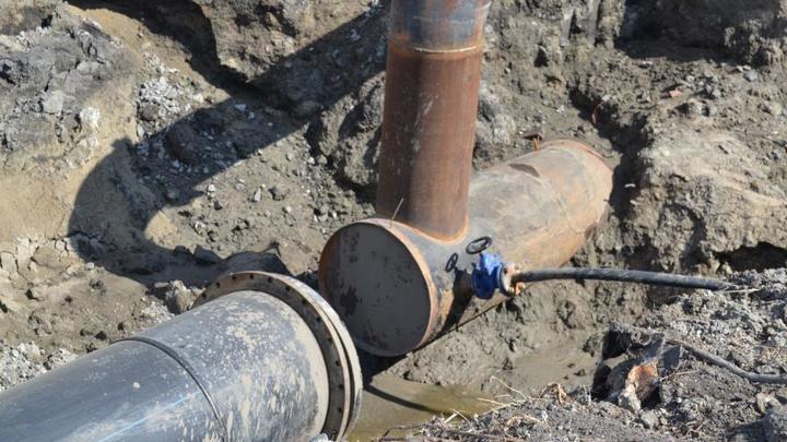 Пока потерпите: в Кургане Водный Союз назвал сроки ремонта водопровода в микрорайоне Северный