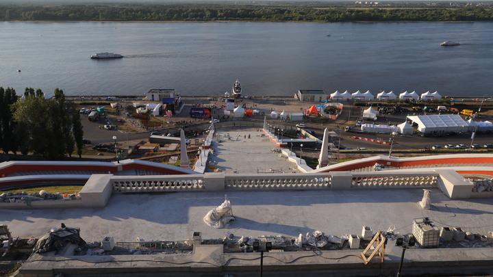 В Нижнем Новгороде 1 августа Чкаловская лестница откроется после ремонта