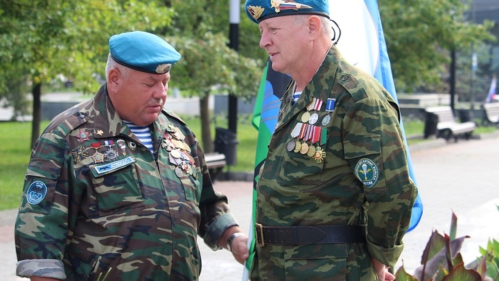 Белорусские десантники встречаются 2 августа на Острове слёз