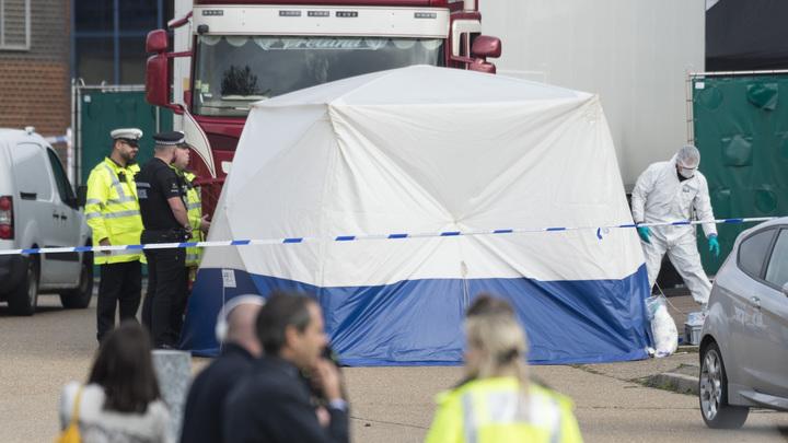 В деле о жуткой гибели 39 мигрантовв грузовике появился ирландский Кеннеди - полиция Эссекса