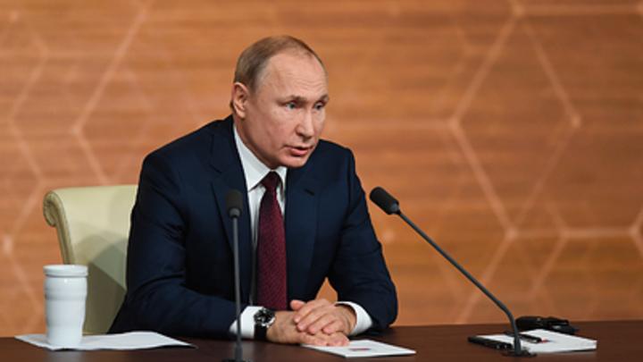 Господин президент, вы - убийца?: Путин заставил выслушать ответ