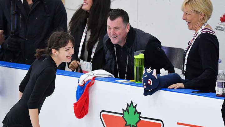 Сейчас я очень доволен!: Канадский тренер Медведевой назвал честным процесс отбора фигуристок на ЧМ