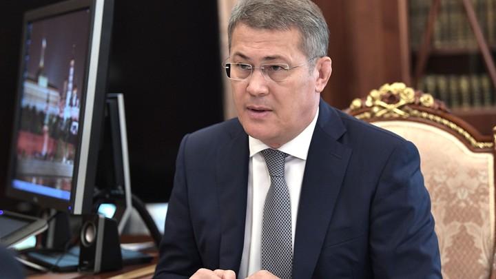 Глава Башкирии рассказал, как успокаивал себя перед встречей с Путиным