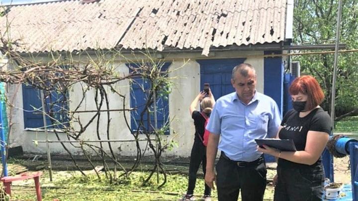 260 пострадавших от града в Павловском районе получили деньги