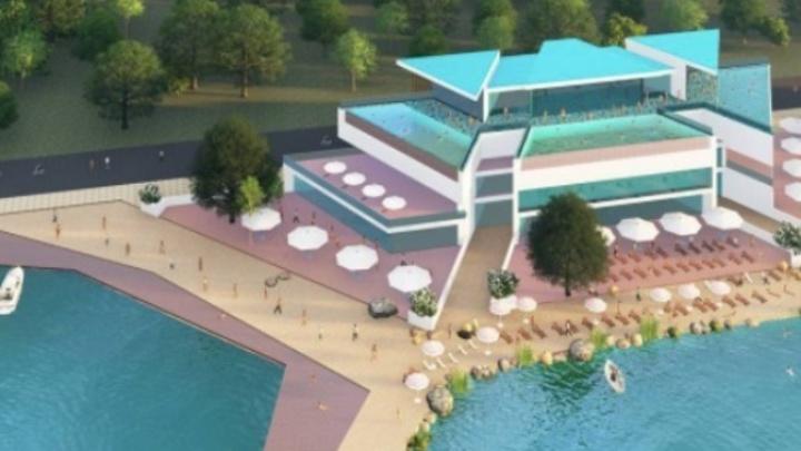 В Шарташском парке построят термальный бассейн под открытым небом