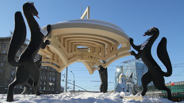 Мэр Новосибирска рассказал о судьбе скульптурной композиции с соболями