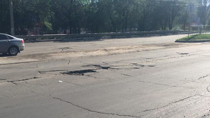 В Тольятти в результате проверки выявили массу недоработок в ремонте нескольких дорог