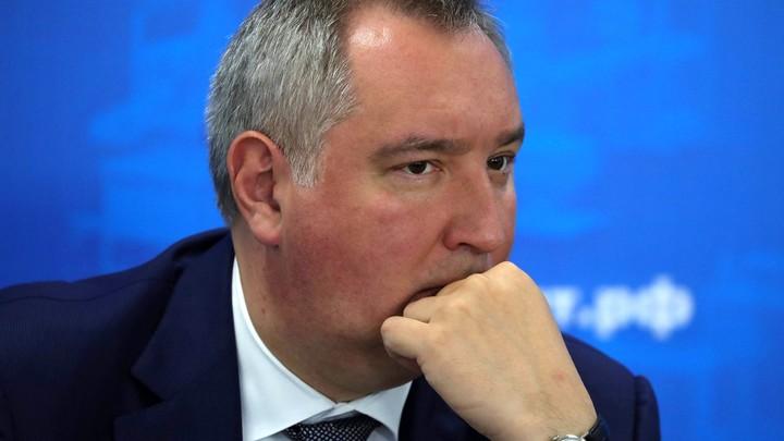 Рогозин вместе с геройской таксой поздравил Россию с Новым годом