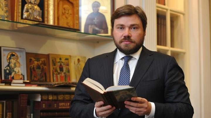 Константин Малофеев возглавил движение Двуглавый орел и провозгласил целью реабилитацию русской монархии