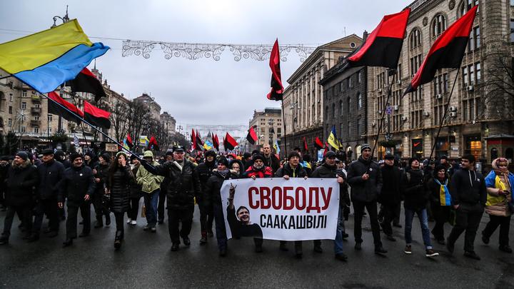 Сторонники Саакашвили закрыли магазинRoshen у СИЗО в Киеве