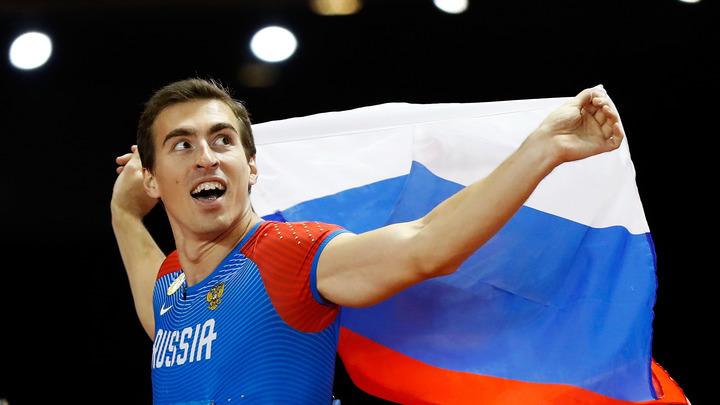Русский атлет покинул олимпийский стадион в инвалидной коляске