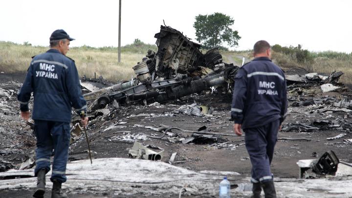 Кто не давал собирать обломки? В твиттере добавили два аргумента к словам голландского политика о вине Украины за MH17
