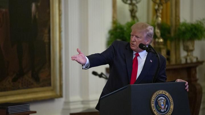Трамп нашёл виноватых в бюджетном кризисе США: Это отказавшиеся от гонки вооружений русские