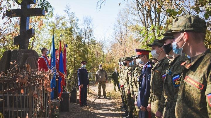 В Ростове-на-Дону и Новочеркасске почтили память казаков-гвардейцев, громивших Наполеона