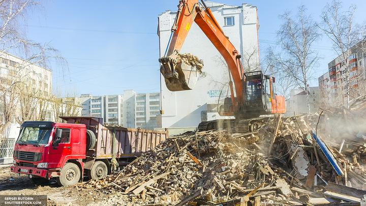 Московские власти опубликовали список 100 домов, исключенных из проекта реновации