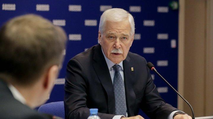Грызлов рассказал о поступках делегации Киева в ТКГ: Диалог полностью остановлен