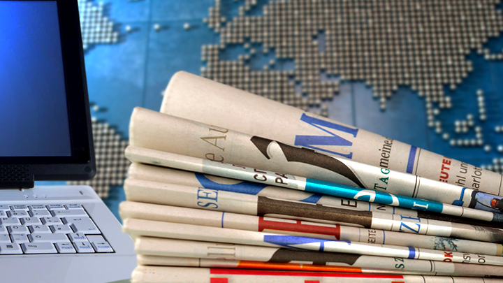 Дайджест СМИ: Макрон в горящем Нотр-Даме, что будет с собором,а также о новом конкурентеТрампа