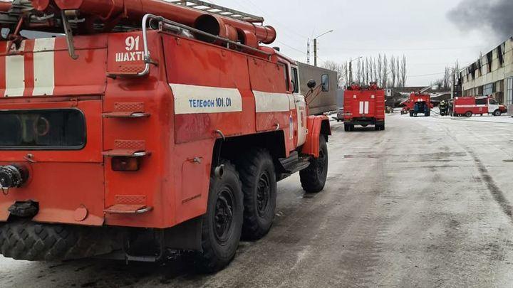 Названа предварительная причина пожара на заводе Химпэк в Шахтах