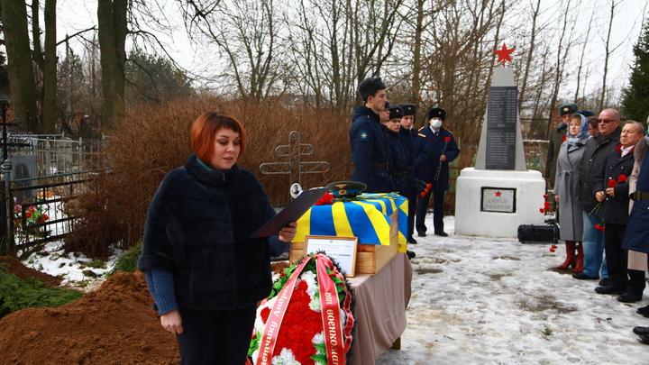 В Собинском районе похоронили курсанта – истребителя, погибшего в годы войны