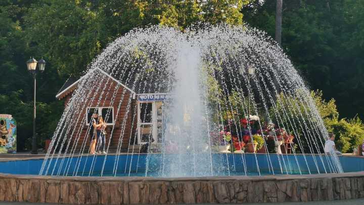 В Новосибирске заработал первый в 2021 году фонтан