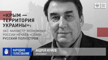 «Крым - территория Украины»: Экс-министр экономики России Нечаев «слил» русский полуостров