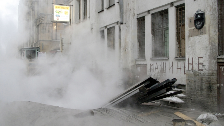 Глава Сызранского района ответит за порыв теплотрассы