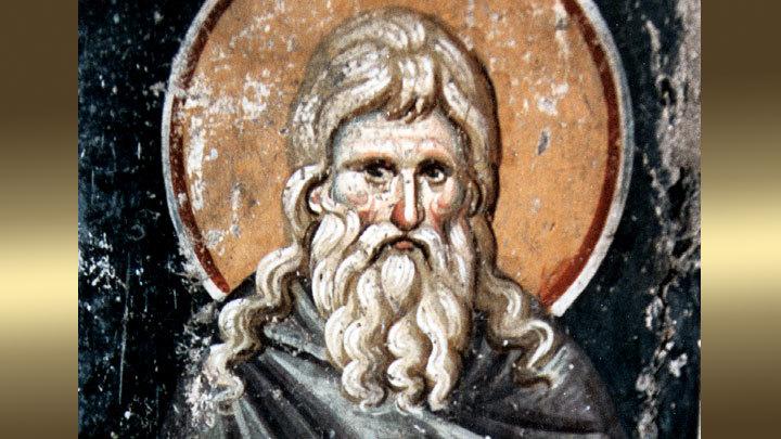 Преподобный Алипий Столпник. Православный календарь на 9 декабря