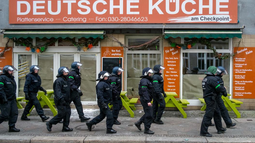 ВГермании задержали жителя России поделу обеспорядках наЕвро