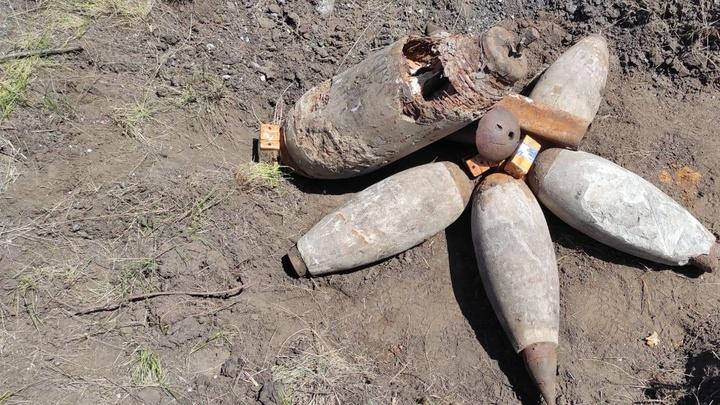 Эхо войны: в Самарской области нашли и обезвредили авиабомбы