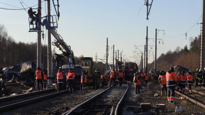 Нашли стрелочников! Следком определил подозреваемых в крушении поезда под Ковровом