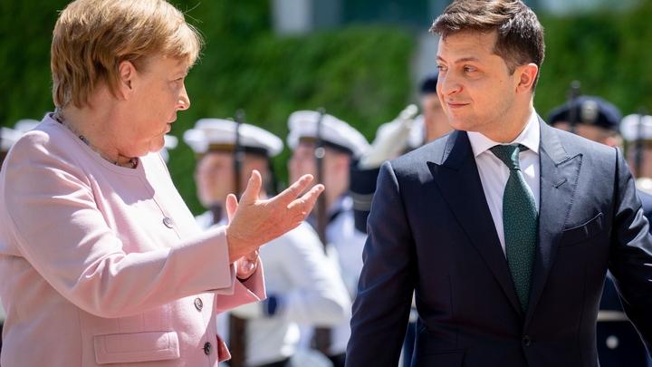 Турне Зеленского в Германии: Мечты и чаяния Украины споткнулись о тряску Меркель?