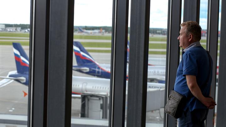 На Украине посадили самолет из Москвы из-за подозрения о бомбе