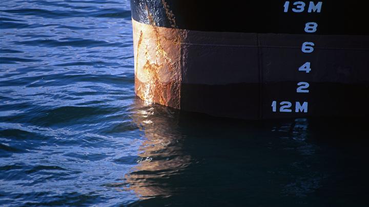 Крымские моряки спасают терпящий бедствие турецкий сухогруз