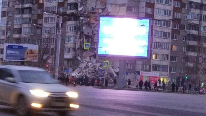 СК: Вина чиновников в обрушении дома в Ижевске по-прежнему не исключена