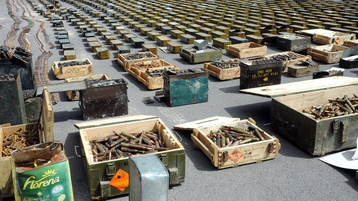 В Россию через Украину хотят отправить 20 тонн боеприпасов - МИД Молдавии