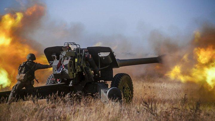 Первомайск - только начало? ВСУ накануне перемирия стянули к Горловке и югу ЛНР самоходную артиллерию
