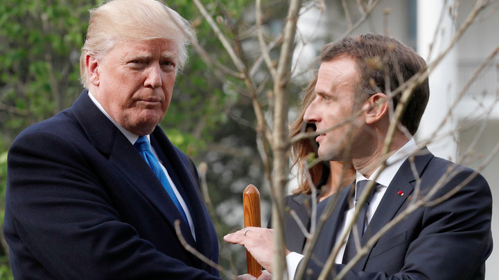 Макрон соблазняет Трампа