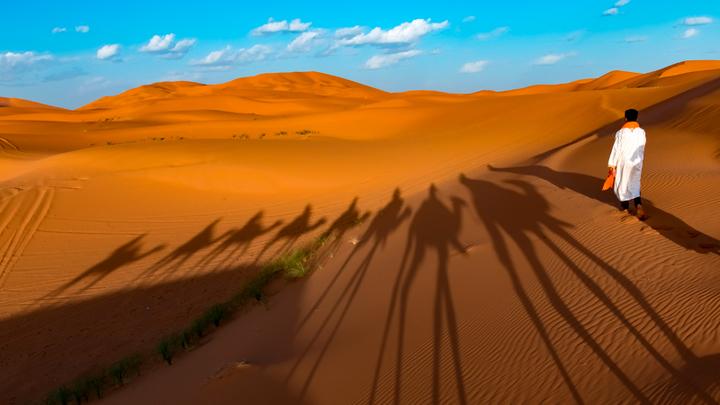 Евреи продают пески Сахары правителю Марокко. Дорого
