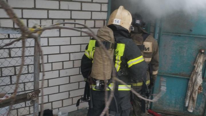 В Коврове на пожаре погиб человек