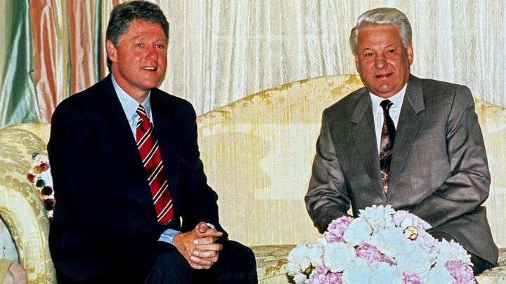 В США «рассекретили» переписку Ельцина с Клинтоном о Путине